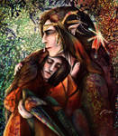 Feanor and young Curufin