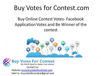 Buy Online Contest Votes and Facebook Votes by Buyvotesforcontest