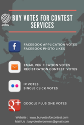 Buy Votes for Contest and Facebook Contest Votes by Buyvotesforcontest