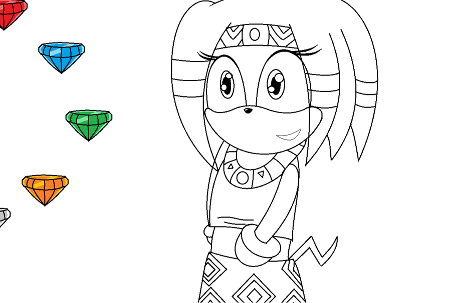 tikal emarld thing XD by deathsbell