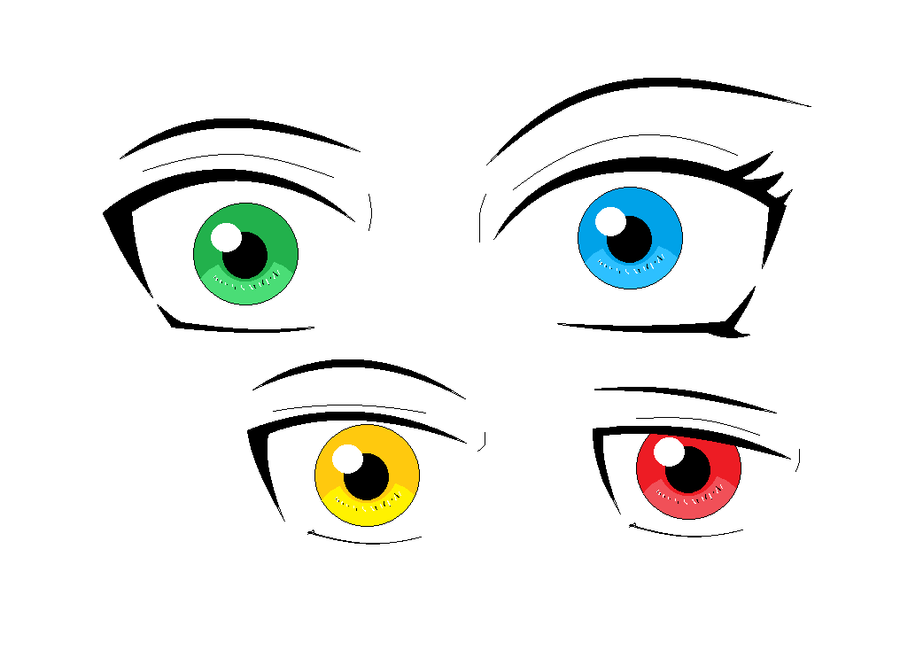 Attempt to draw naruto eyes by deathsbell