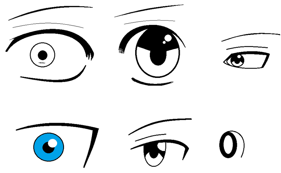 i got my eyes right finally XD by deathsbell