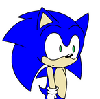 sonic huh animation pratice by deathsbell