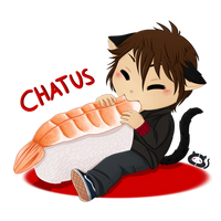 Stray Cats Chibis: Chatus by Cera-Miaw