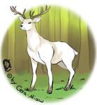Concept Art: Deer by Cera-Miaw