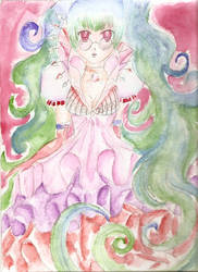 Watercolour Princess