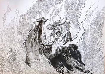 Dragonfire by Mikkellll
