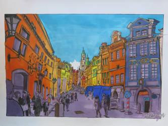 Street of Prauge by Mikkellll