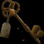Mysterious Locket Key