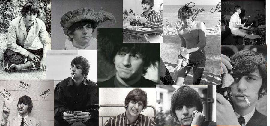 Ringo Starr Desktop Background by hailwhale