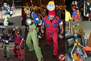 Super Mario Ghostbusters by BSMario81