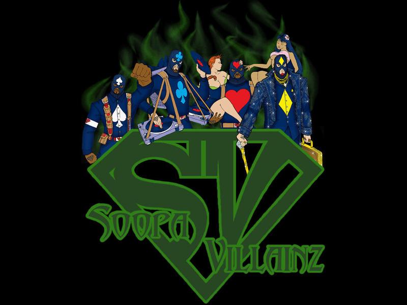 Soopa Villainz - Furious (CD Album)