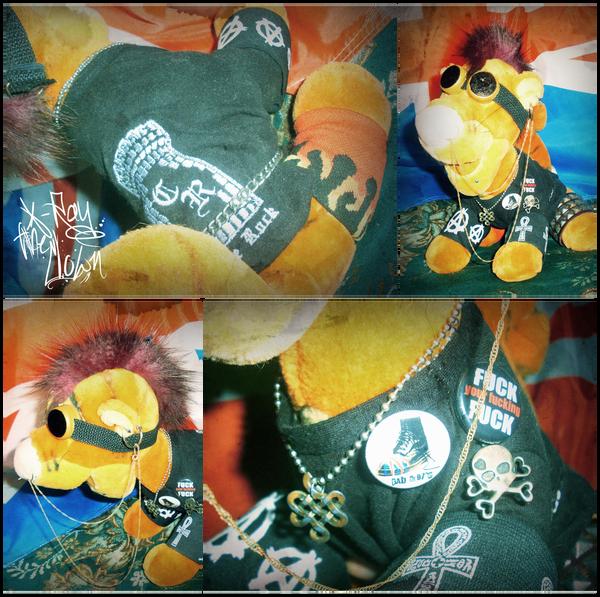 Tigger Punk by XRayTheClown