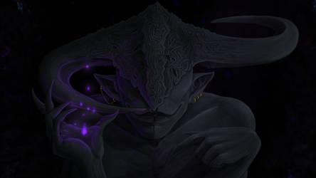 The demon of the dark