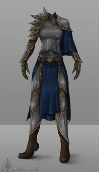 Alina's armor- art trade