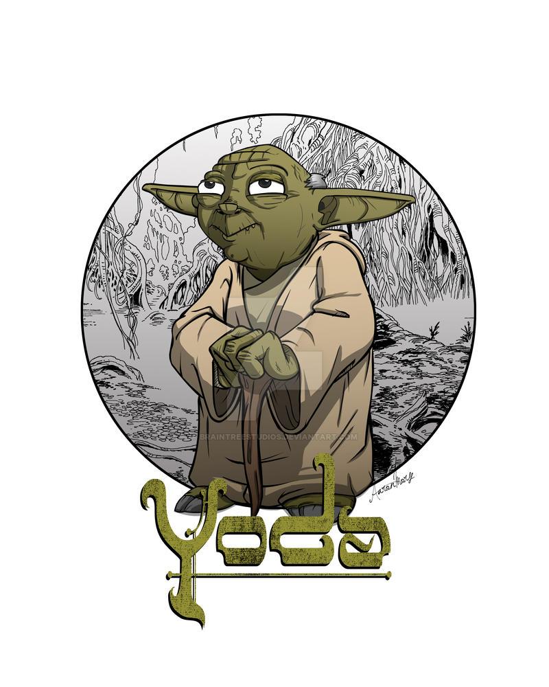 Yoda by BrainTreeStudios