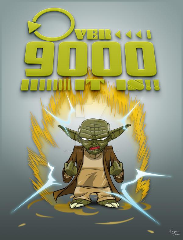 Over 9000 It is by BrainTreeStudios