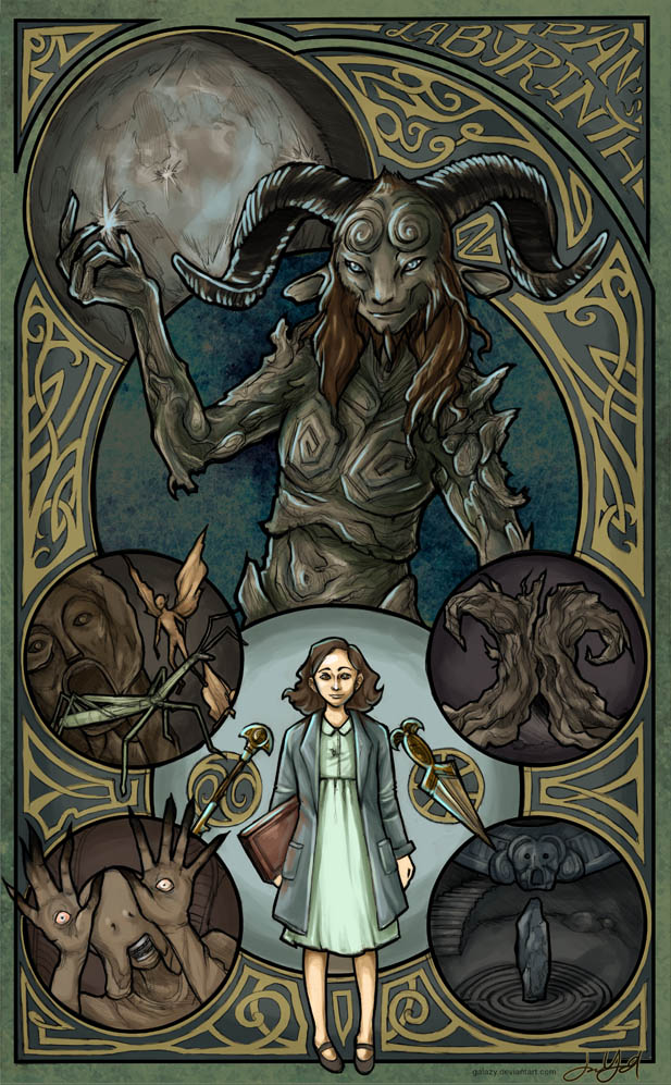 Pan 39 s labyrinth by galazy on deviantart - Fresh pan s labyrinth wallpaper ...
