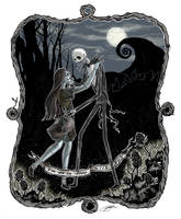 Nightmare Before Christmas Love by galazy