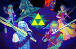 Legend of Zelda by galazy