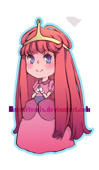 Princess Bubblegum by kuroartemis