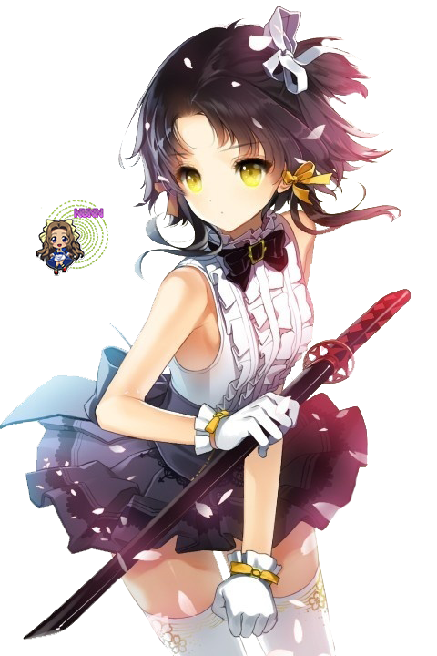 Anime girl render 20 by Nunnallyrey on DeviantArt