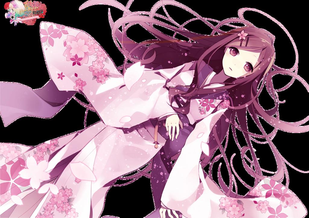 Kimono girl 54 by Nunnallyrey