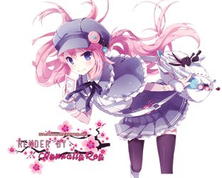 Anime girl render 19 by Nunnallyrey
