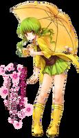 Anime girl render 23