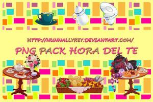 Pack Hora Del Te by Nunnallyrey