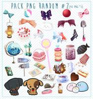 Pack Png Random 2 by Nunnallyrey