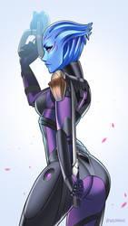 Asari Vanguard by velladonna