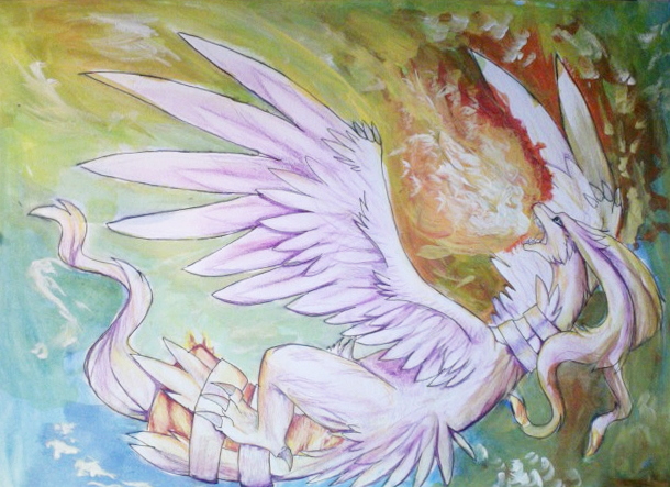 Reshiram by KellBellz