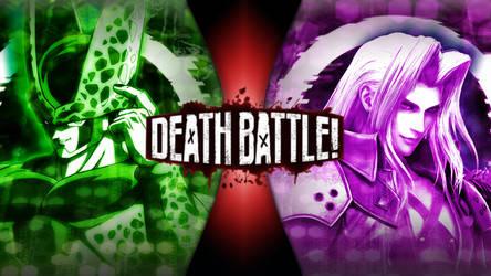 Cell vs Sephiroth by KenshinRyougi