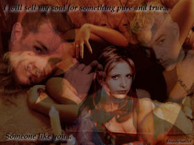 Buffy And Spike by DoubtfullyYours