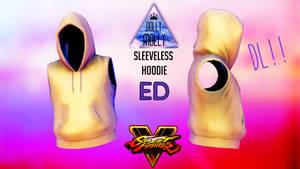 [MMD] SFV Male Sleeveless Hoodie - ED ( DL!! )
