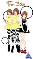 [MMD] TDA - Fran Bow PACK - (DL SPECIAL!!) - by DollyMolly323