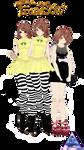 [MMD] TDA - Fran Bow PACK - (DL SPECIAL!!) -