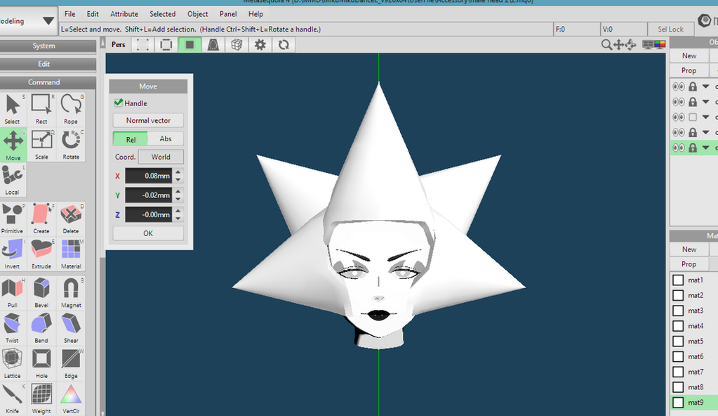 [MMD] WHITE DIAMOND - WIP 2 by DollyMolly323