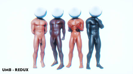 Ultimate Male Body Redux (Base DL) Built Ver. MMD by DollyMolly323
