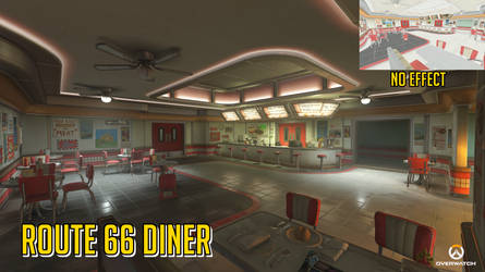 [MMD] Route 66 Diner - Overwatch (Download Stage)