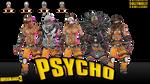 Borderlands 3 - Male Psycho (Model DL) MMD
