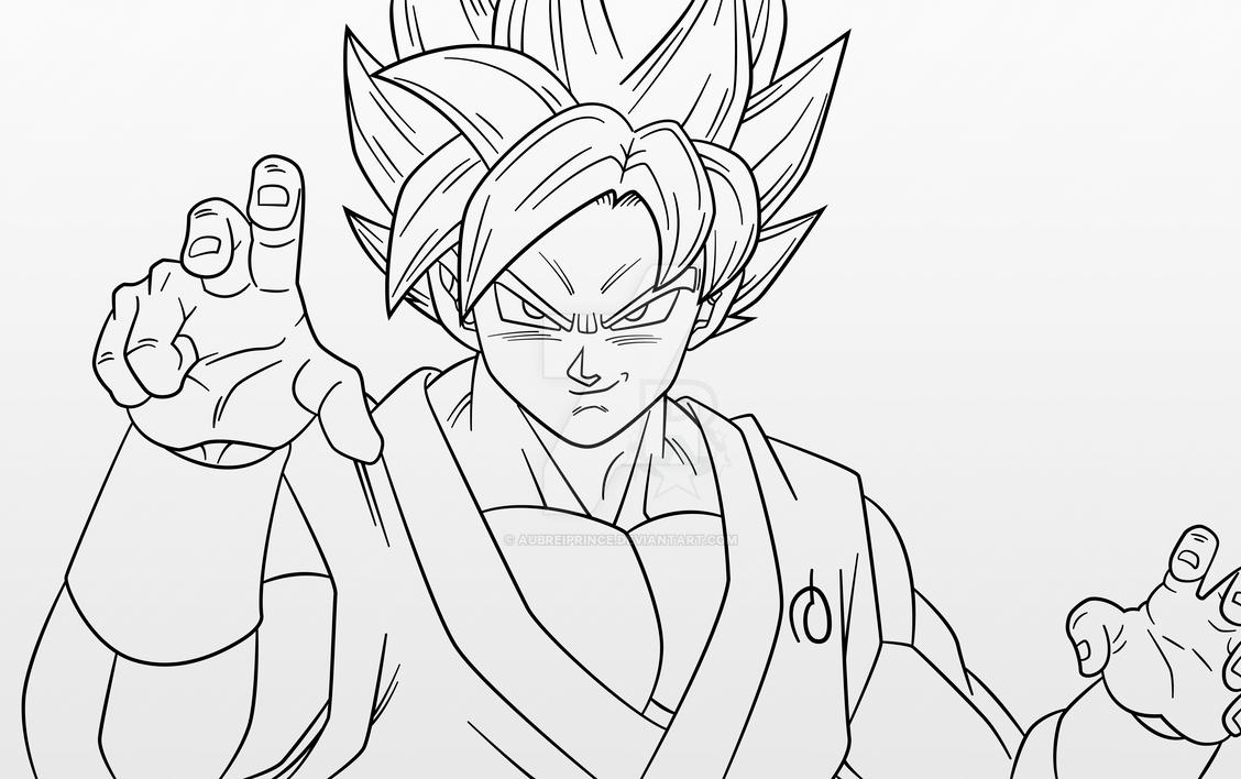 Super Saiyan Blue Goku By AubreiPrince On DeviantArt