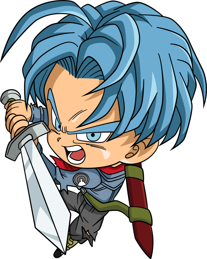 Chibi Future Trunks #1 By AubreiPrince On DeviantArt