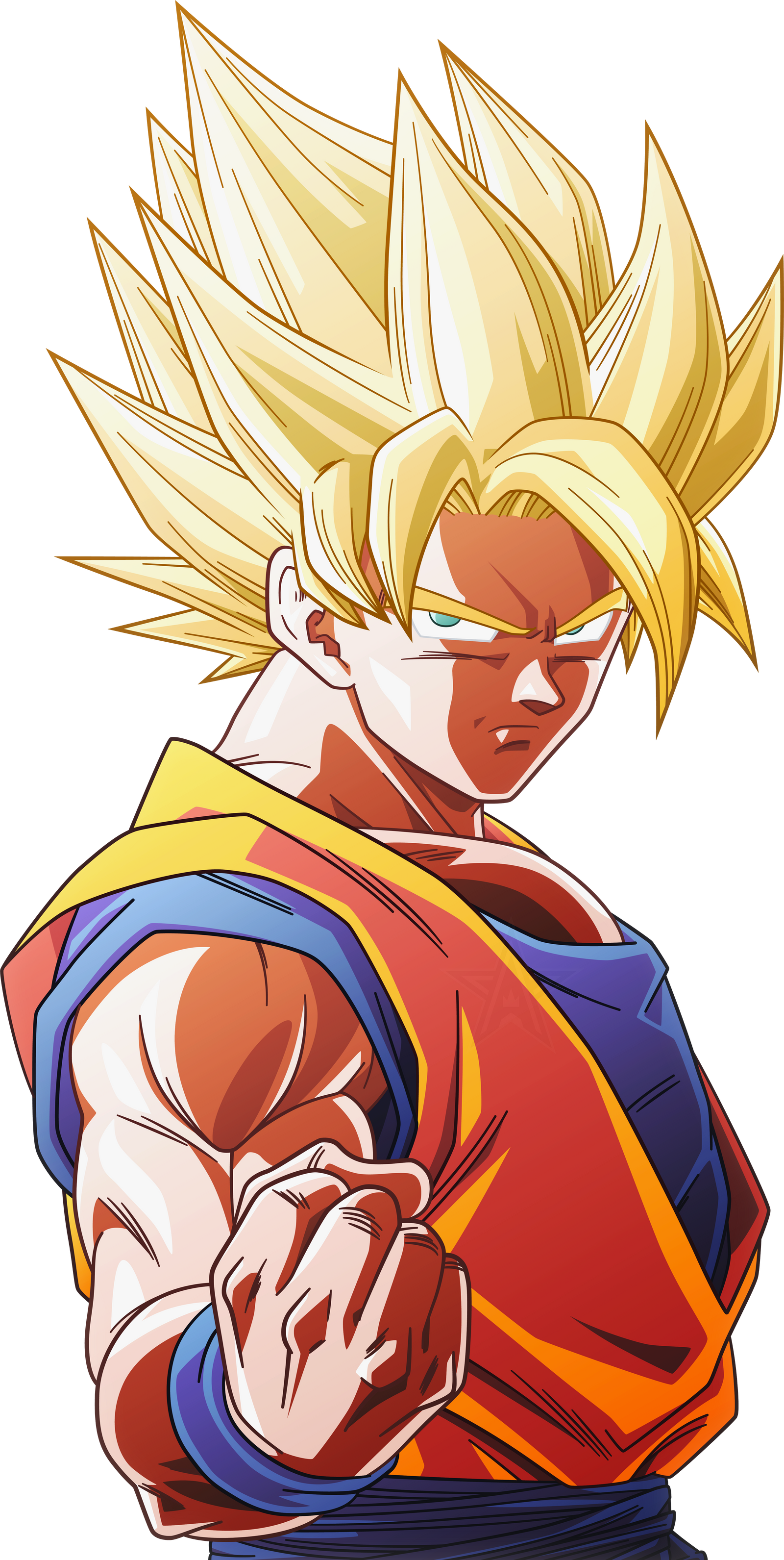 Super Saiyan Goku 8 Alt 2 By Aubreiprince On Deviantart