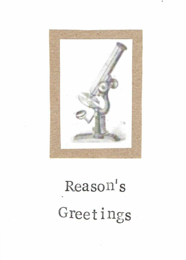 Reasons greetings atheist holiday card by bluespecsstudio on reasons greetings atheist holiday card by bluespecsstudio kristyandbryce Gallery