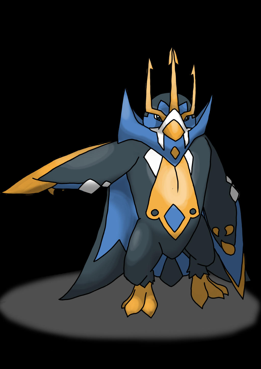 Mega Empoleon by Shiny...