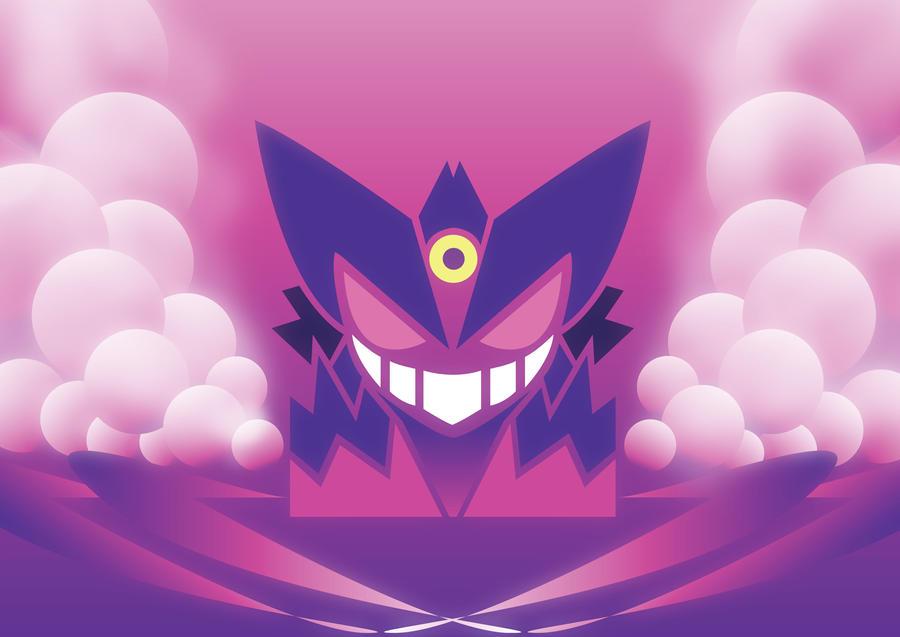 Mega Gengar By ShinyGazza