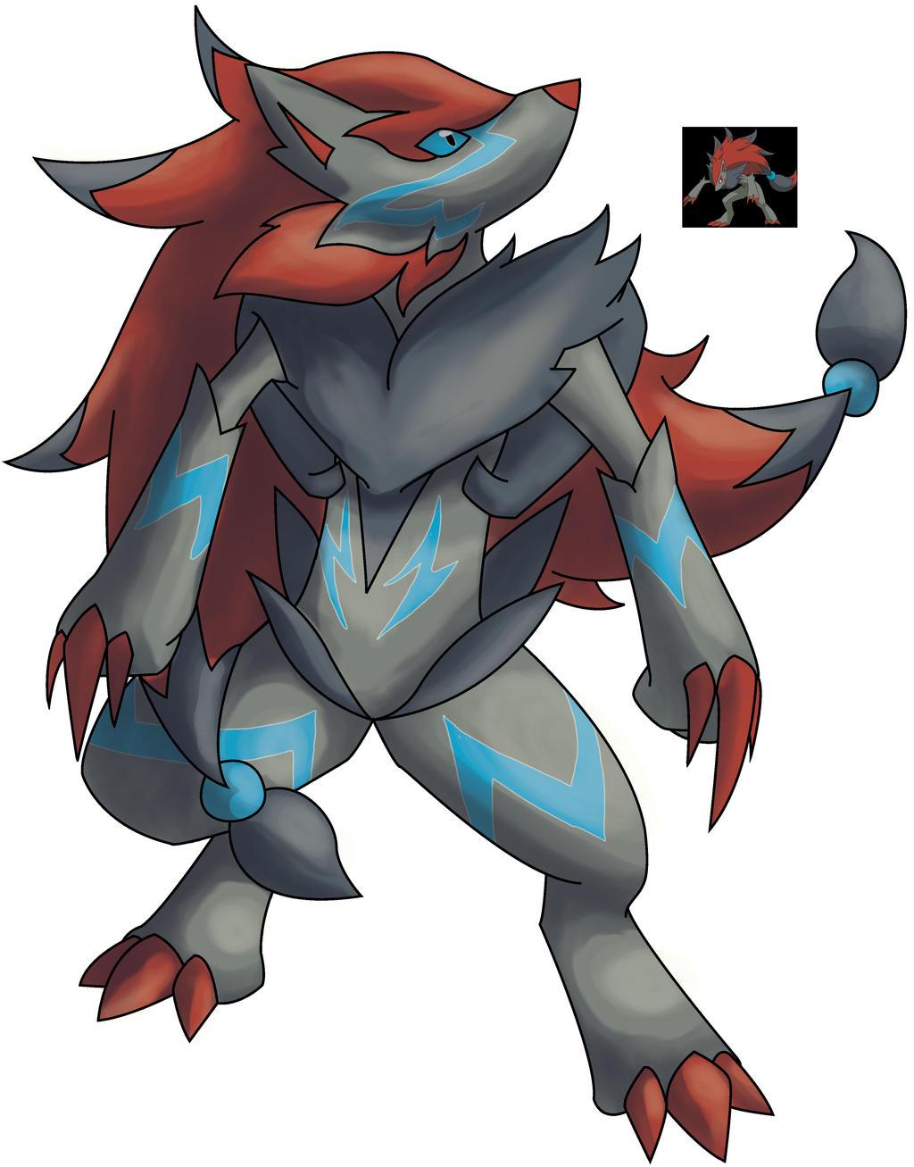 Mega Zoroark by ShinyG...