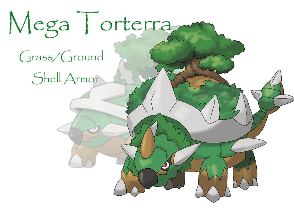 Mega Torterra for Pinterest